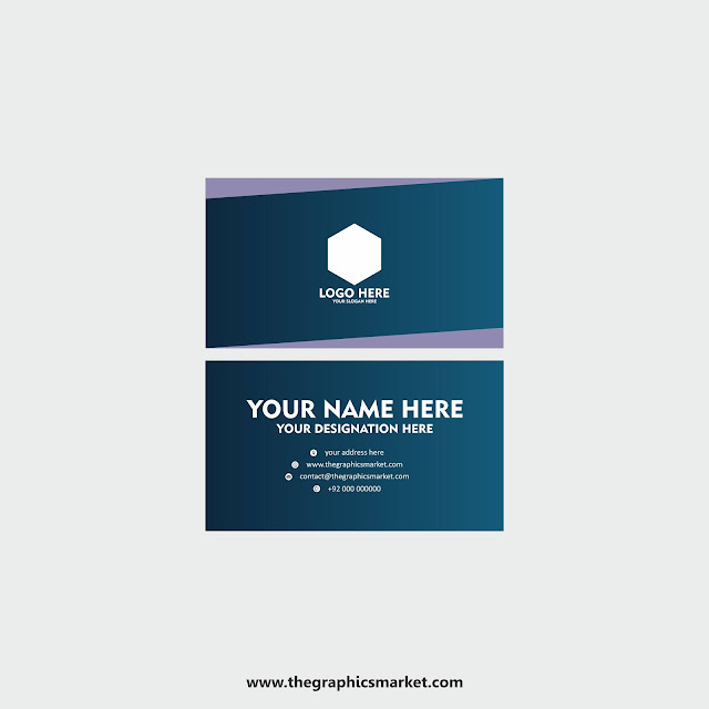 free visiting card design, the graphics market,