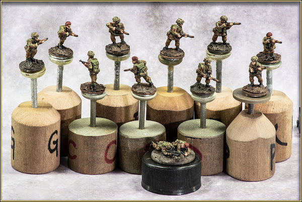PSC 15mm British Paratroopers