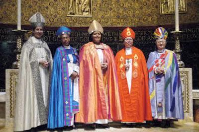Women bishops, ha ha