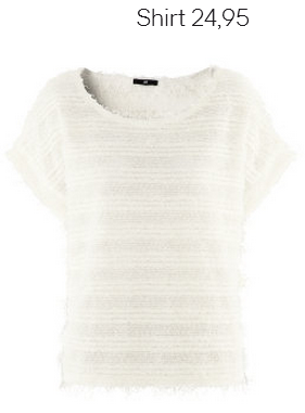 White Pullover H&M Fall 2012 Collection