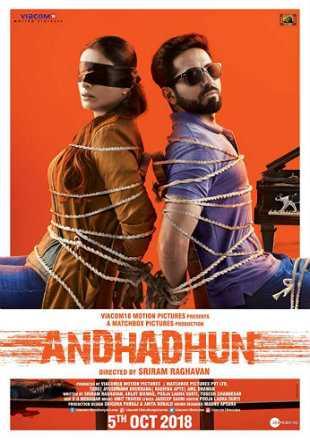 Andhadhun 2018 Full Hindi Movie Download HDRip 720p