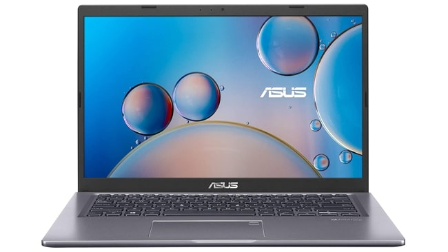Asus VivoBook 14 X415JA laptop under Rs 50,000 price in India for work.