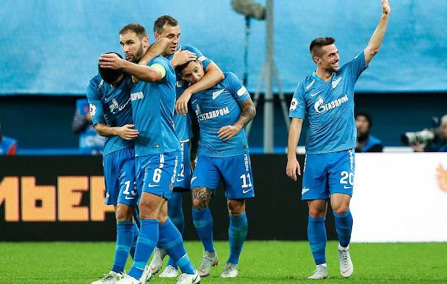 «Зенит» обыграл «Краснодар» благодаря голу Дзюбы на 95-й минуте
