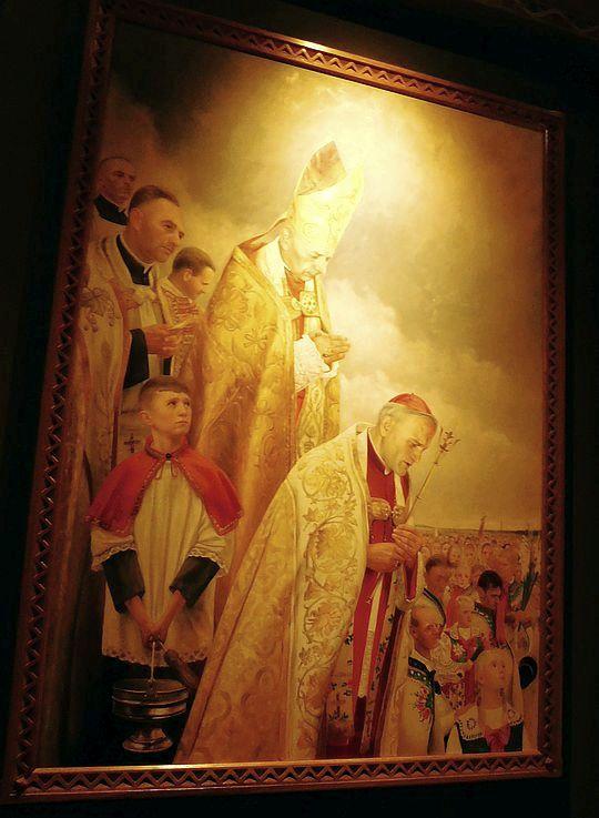 Obraz w kaplicy Matki Bożej Ludźmierskiej.