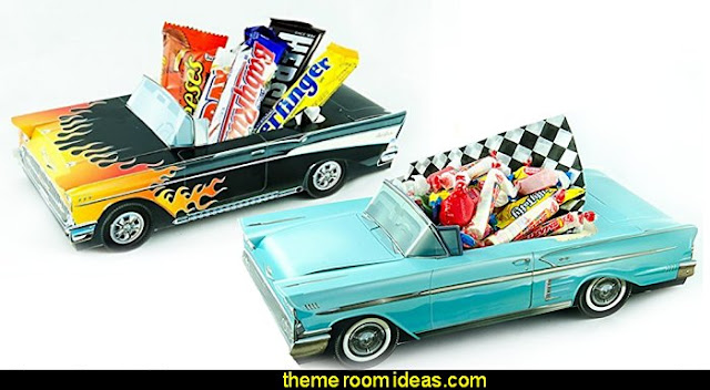 Classic Car Party Food Boxes - Hot Rod Collection  50s party ideas - 50s party decorations - 1950s Theme Party - 1950's Rock and  Roll Themed Party Supplies - 50s Rock and Roll Theme Party - 50s party decorations - 50s party props - 50s diner party