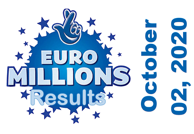 EuroMillions Results for Friday, October 02, 2020