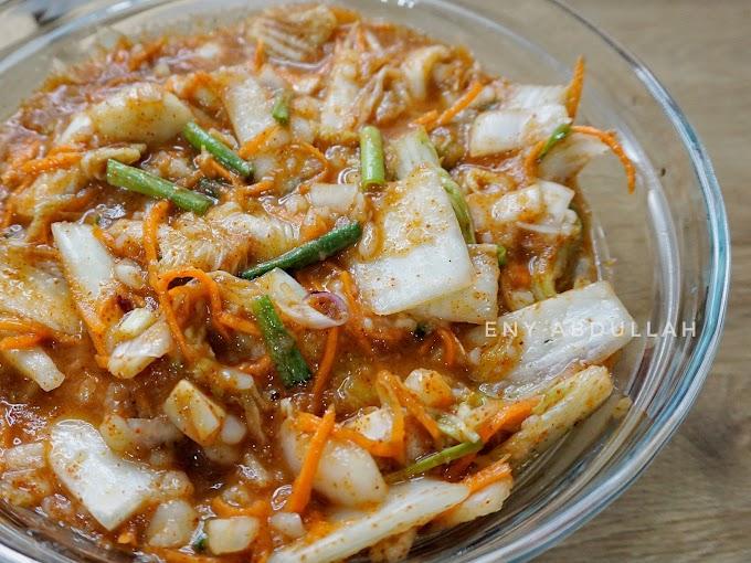 Buat Sendiri Kimchi Halal, Murah Sedap dan Bersih