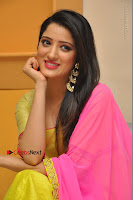 Actress Richa Panai Latest Pos in Yellow Anarkal Dress at Rakshaka Bhatudu Telugu Movie Audio Launch Event  0012.JPG