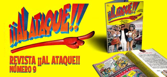 Revista ¡¡Al Ataque!! Nº 9 (Ediciones B, 1993)
