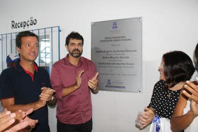21 ESCOLAS: Prefeitura entrega Escola Anísio Teixeira reformada