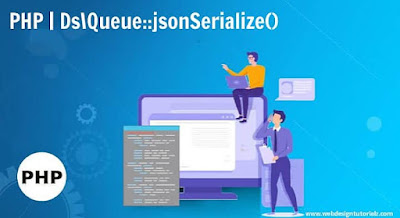 PHP | Ds\Queue::jsonSerialize() Function