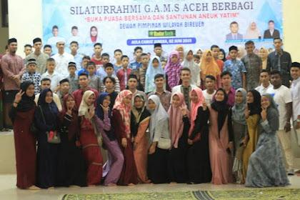 GAMS Aceh Top Acara Safari Ramadhan di Bireuen, Buka Puasa Deungon Aneuk Yatim