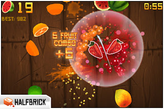 Fruit Ninja IPhone Game Fruits Slashing By Fingers 2