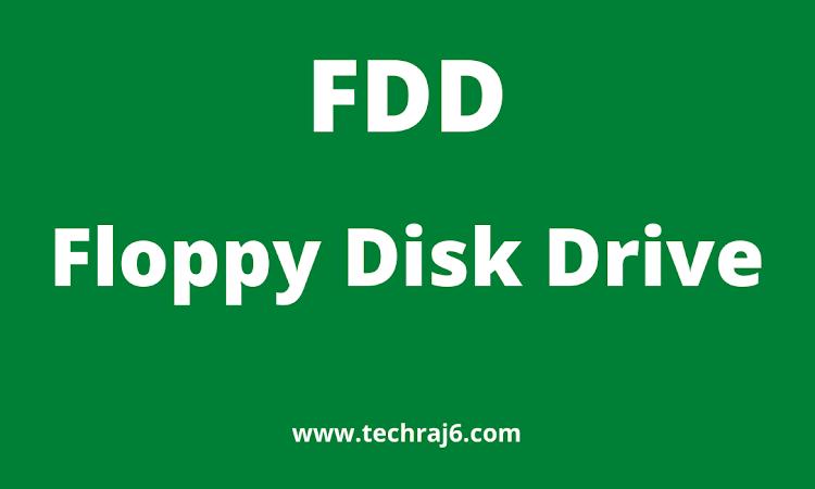 FDD full form,what is the full form of FDD