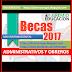 RECAUDOS PARA BECAS 2017 SE RECIBIRÁ DESDE EL 1 DE JUNIO HASTA EL 31 DE JULIO DEL 2017