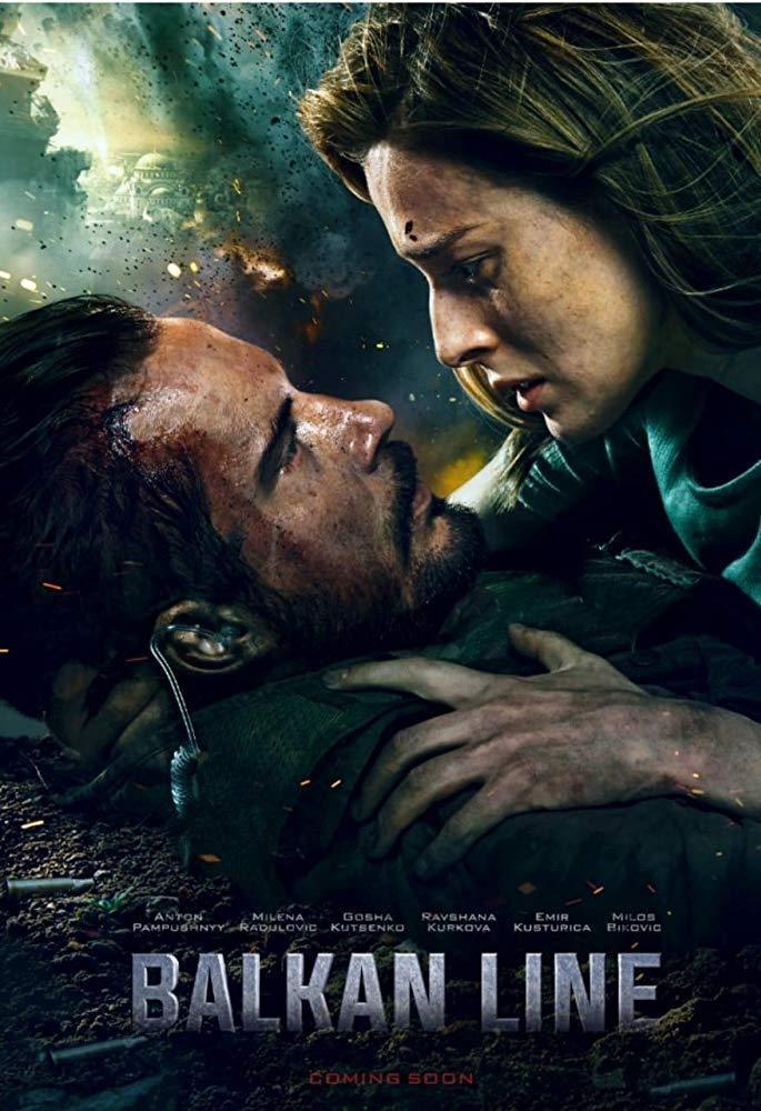 Download The Balkan Line (2019) Full Movie in Hindi Dual Audio BluRay 480p [400MB]