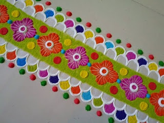 border designs for diwali