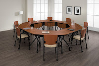 Circular Bungee Table Layout