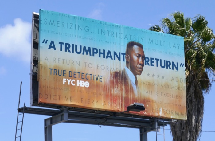 True Detective season 3 Emmy FYC billboard