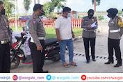 AKP Dharmawaty Dampingi Subdit Kamsel Dit Lantas Polda Sulsel Lakukan Survey di Kabupaten Pinrang
