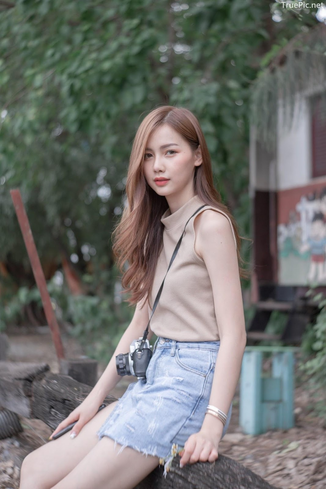 Thailand beautiful model - Pla Kewalin Udomaksorn - A beautiful morning with a cute girl - Picture 5