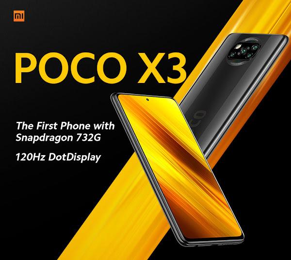 Xiaomi Poco X3 a grande preço