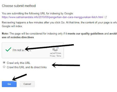 Fetch as Google Pengganti Submit Url