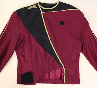 TNG season 1 admiral uniform