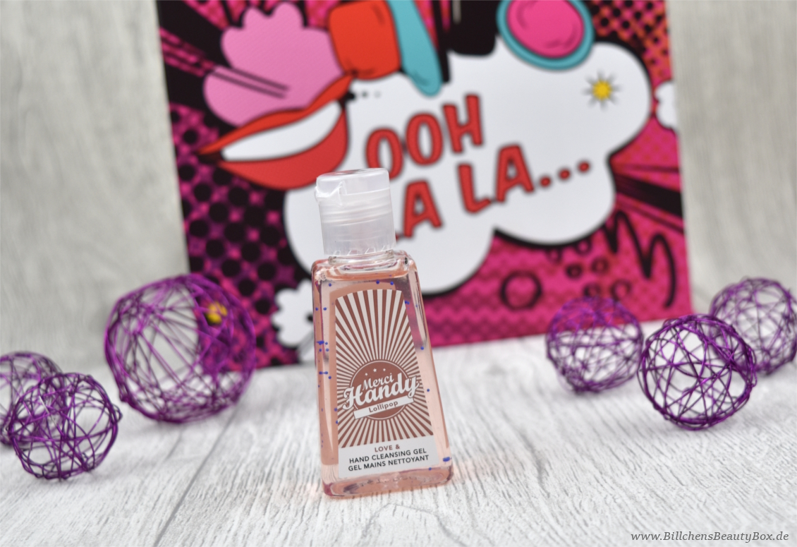 Pink Box - Pop Art Edition -  Merci Handy - Gel Handreiniger
