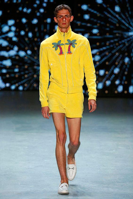 Saiba quais sãos as Tendências de Cores para o Verão 2018 na Moda Masculina.