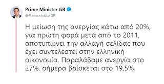 Αλέξης Τσίπρας: «Για πρώτη φορά η ανεργία κάτω από το 19,5%»
