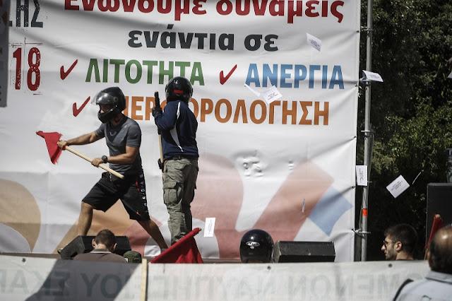 Ελλάδα: Οι αντιεξουσιαστές στην υπηρεσία της εξουσίας