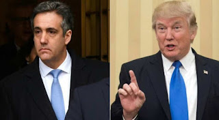 Trump accuses ex-lawyer Michael Cohen of perjury, citing unpublished book