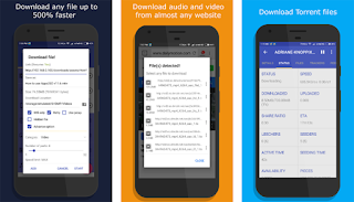 Download Manager: Download Audio/Video/Torrent