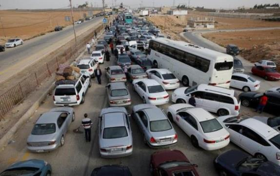 الاعلان عن تمديد العمل في معبر جابر نصيب الحدودي لمدة ساعتين إضافيتين.