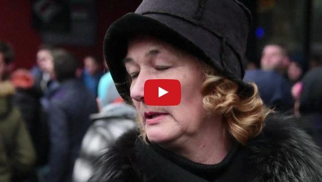 VIDEO: Rakyat Eropa Lakukan Aksi Solidaritas Dukung Perdamaian Dan Keadilan Untuk Aleppo