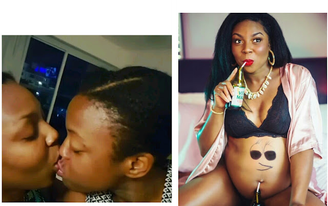My God has done it again- Nigerian lesbian reveals she is pregnant after breaking up with her Kenyan girlfriend