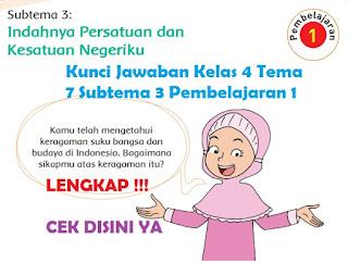 Kunci Jawaban Kelas 4 Tema 7 Subtema 3 Pembelajaran 1 www.simplenews.me