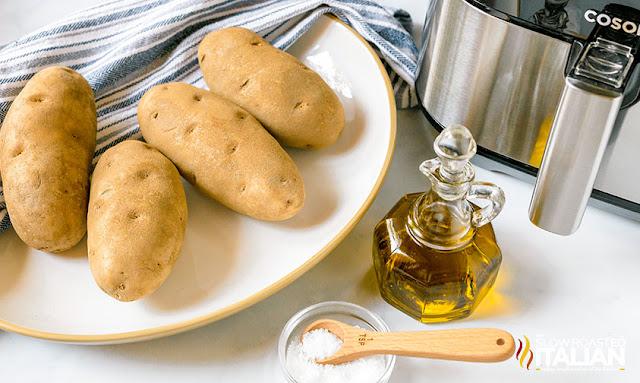 Air Fryer Baked Potato ingredients
