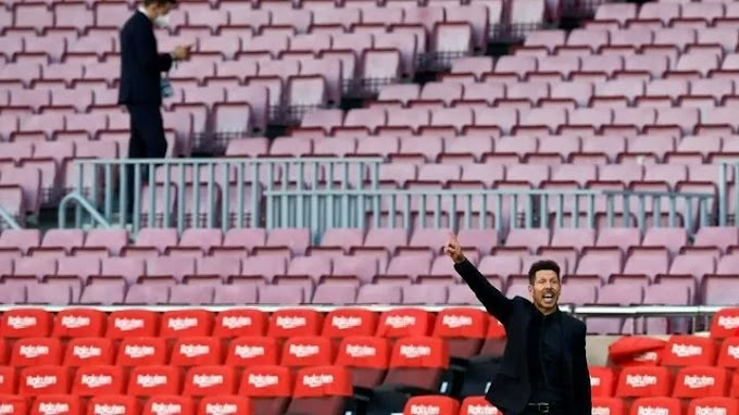 Simeone: Koeman has shown a lot of character and I wish him the best