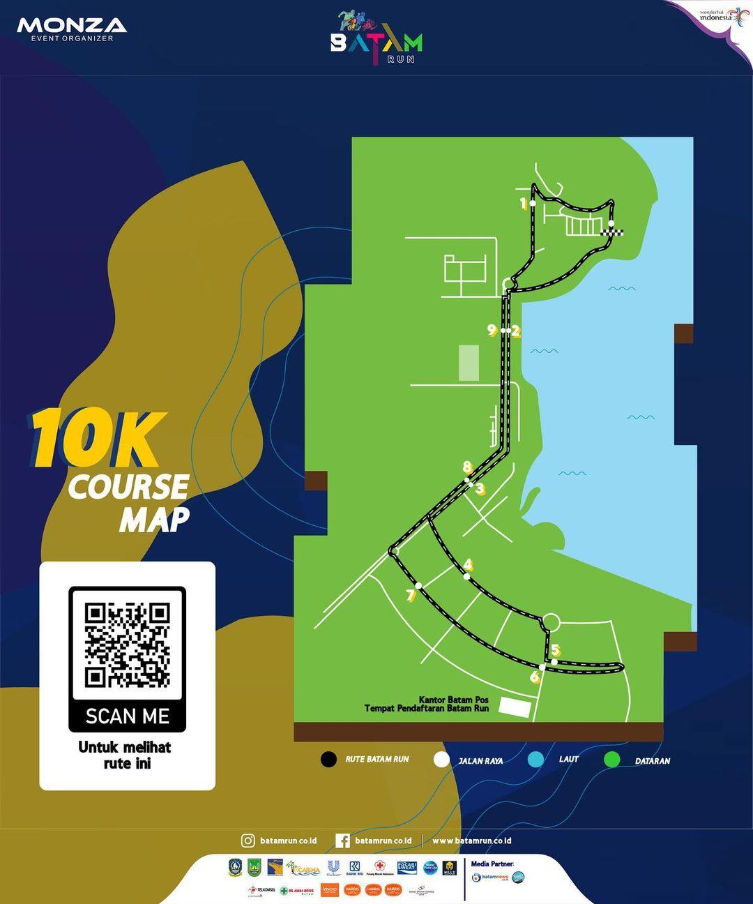 10K - Batam Run • 2020