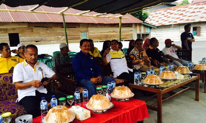 Begini Totalitas Ketua Fraksi NasDem Lutra Menangkan NH-Aziz