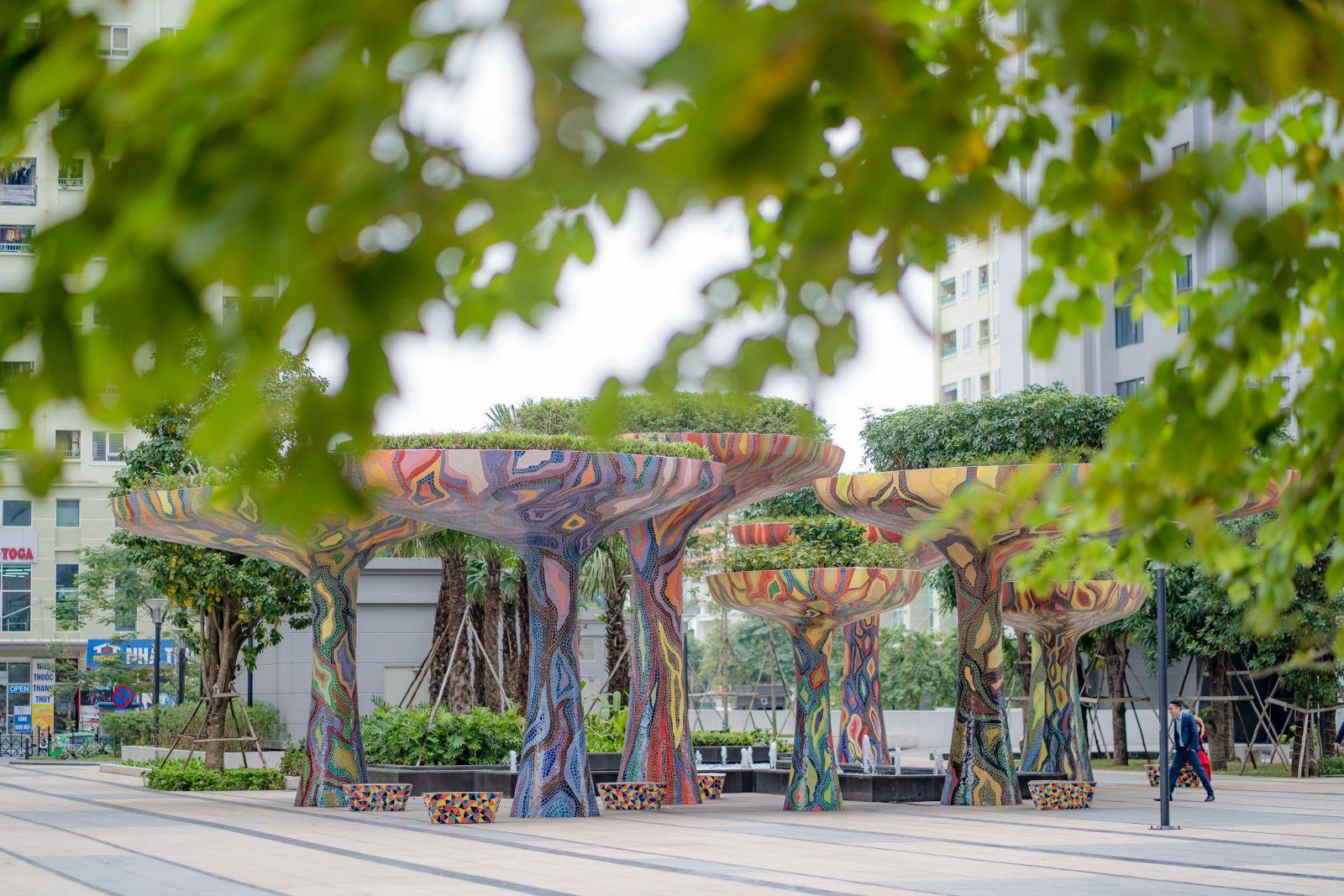 Quảng trường dự án TNR Goldmark City