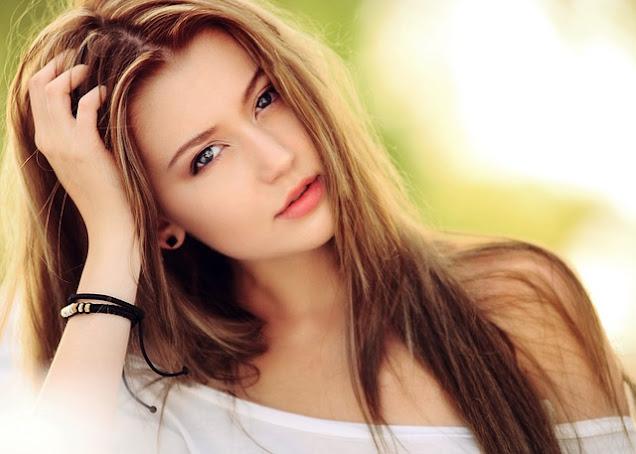 Kulit wanita yang indah dan terjaga