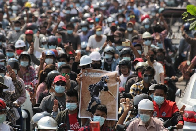The death toll in the Myanmar military's crackdown on protesters has passed 500