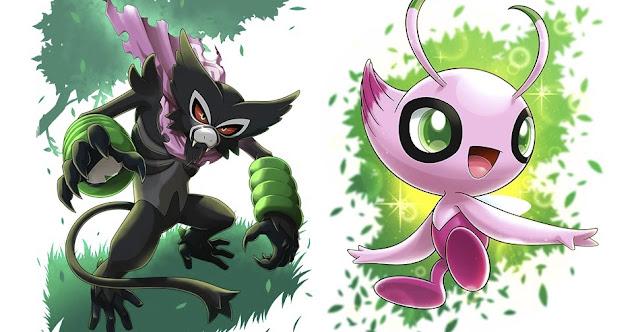 Pokémon Sword/Shield Dada Zarude Shiny Celebi