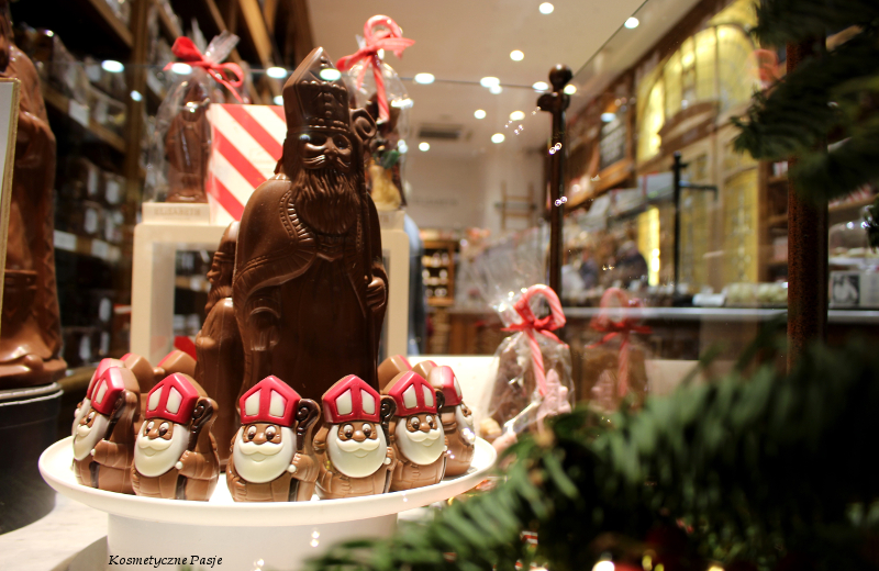 czekoladowy mikołaj
