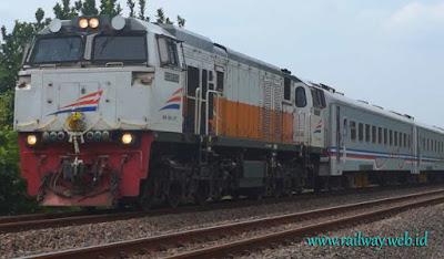 KA Ranggajati Jember Cirebon