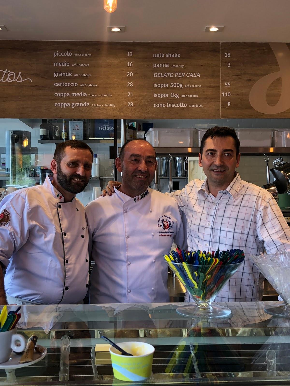 Cremeria Italiana traz o melhor gelato do mundo para Brasília