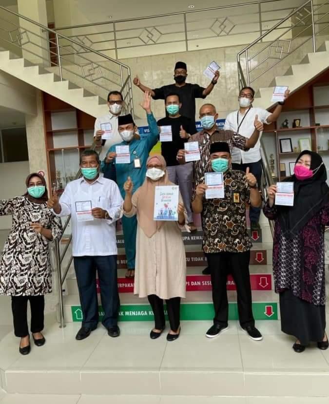 OPD Kota Batam Jalankan Suntik Vaksin Covid-19 Dosis Kedua, Sebagai Ucapan Syukur Pejabat Pemko Batam Gelar Doa Bersama